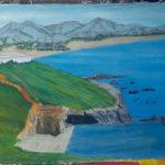 Griekse-kust-met-bergen-2,5x4mtr